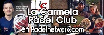 La Carmela Padel Club de Lanus en Padelnetwork.com
